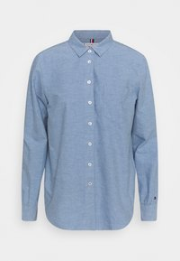 Tommy Hilfiger - OXFORD RELAXED - Button-down blouse - daybreak blue - 0