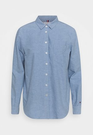 OXFORD RELAXED - Button-down blouse - daybreak blue