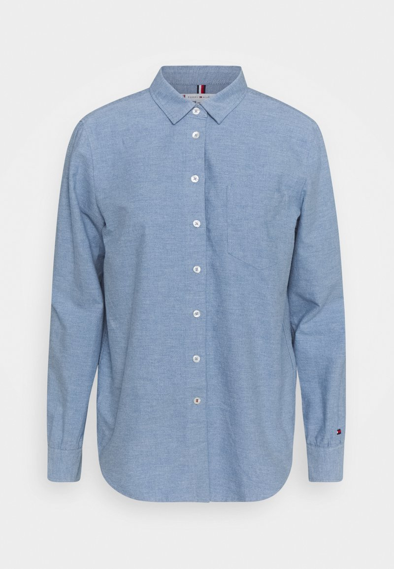 Tommy Hilfiger - OXFORD RELAXED - Button-down blouse - daybreak blue