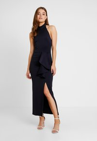 True Violet - HALTER NECK WITH SPLIT - Maksimekko - navy - 2