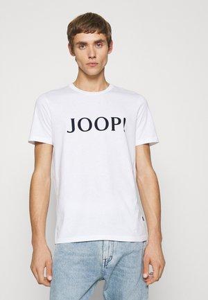 ALERIO - Print T-shirt - white