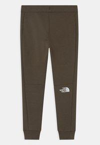 The North Face - SLACKER  - Teplákové kalhoty - new taupe green - 1