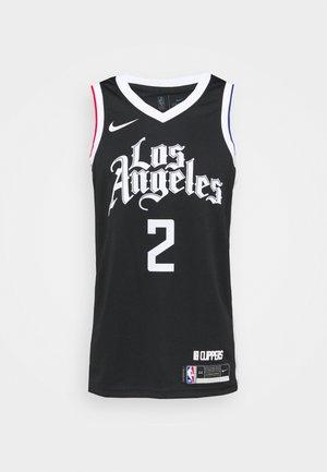 NBA LOS ANGELES CLIPPERS KAWHI LEONARD CITY EDITION SWINGMAN - Club wear - black/white