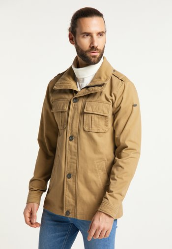 Summer jacket - dunkelsand