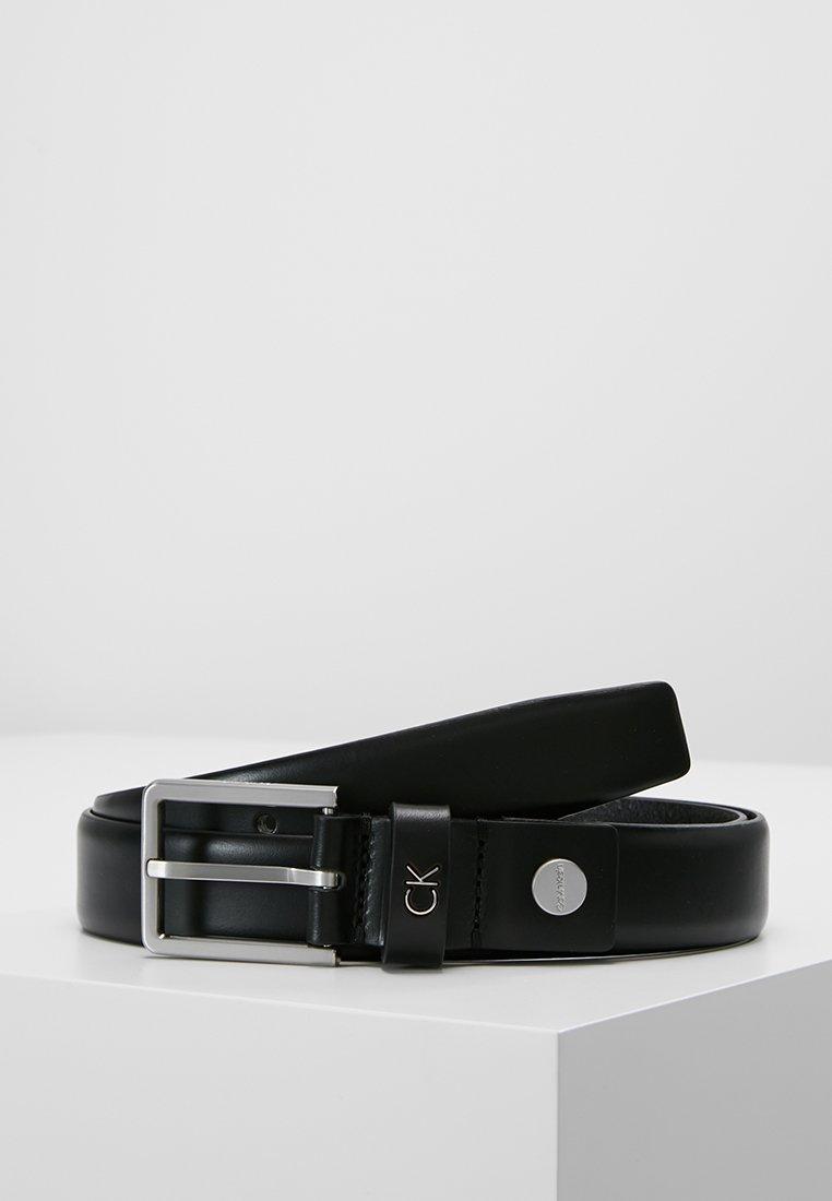 Calvin Klein - FORMAL BELT - Belt business - black