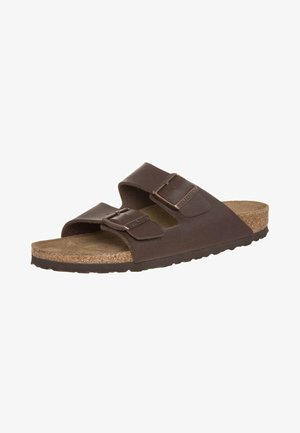 ARIZONA NARROW FIT - Sandalias planas - dunkelbraun