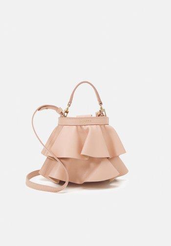 MINI ENVOLEE - Handbag - amande