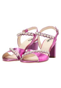 myMo at night - Sandalen met hoge hak - pink metallic - 2