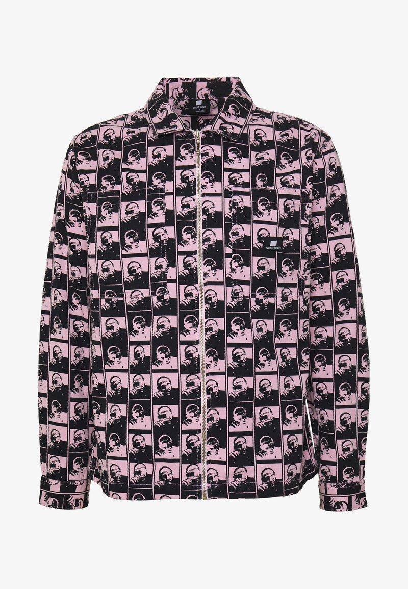Sweet SKTBS - UNISEX SWEET ZIPPED OVERSHIRT - Spijkerjas - light pink