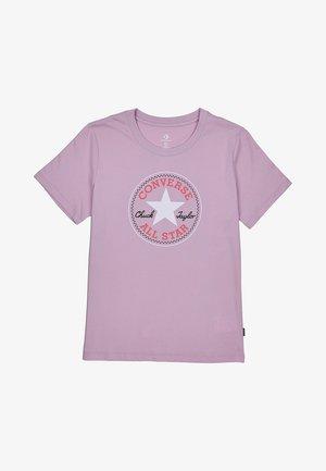 CHUCK PATCH CLASSIC TEE - Print T-shirt - rosa