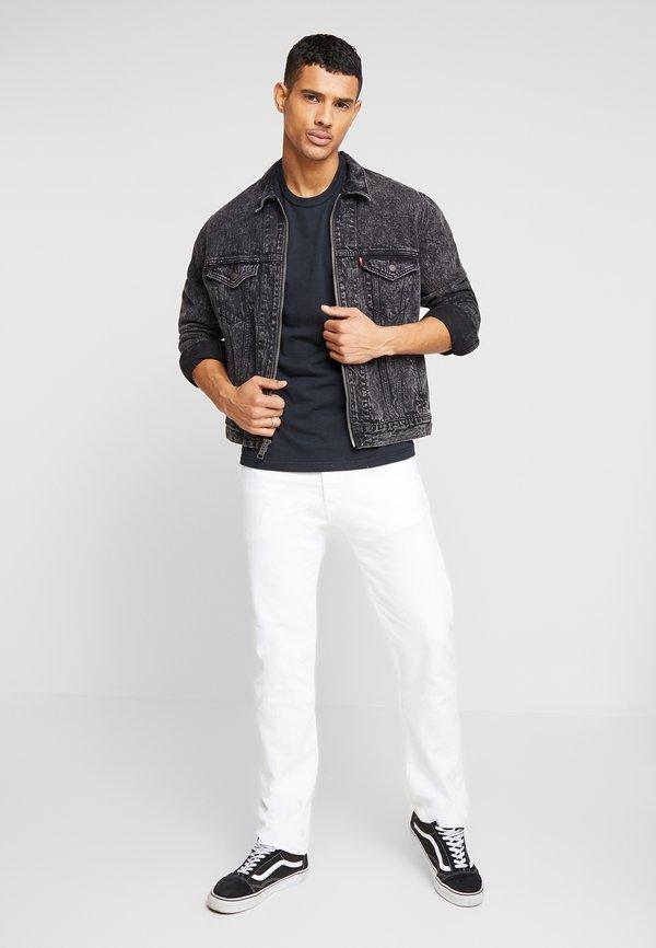 Levi's® AUTHENTIC CREWNECK TEE - T-shirt basic - mineral black/czarny Odzież Męska OFJP