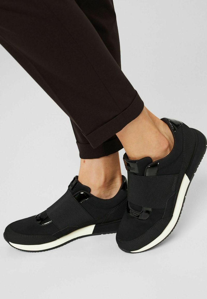 Esprit - Slip-ons - black