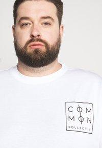Common Kollectiv - ZONE - Print T-shirt - white - 3