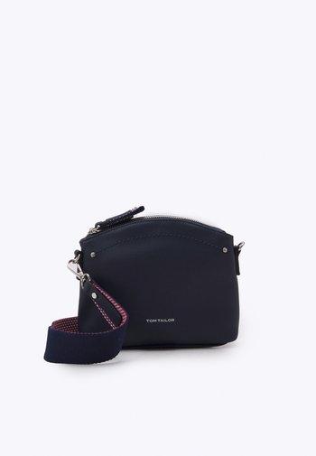 DELIA - Across body bag - dark blue