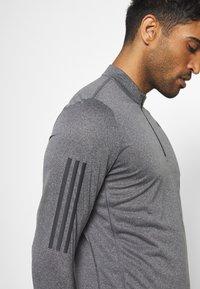 adidas Performance - AEROREADY SPORTS RUNNING LONG SLEEVE - Sports shirt - black/white - 6