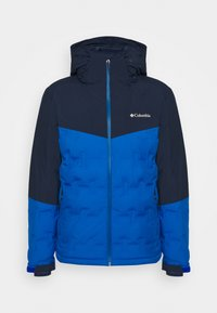 Columbia - WILD CARD JACKET - Kurtka narciarska - bright indigo/collegiate navy - 5