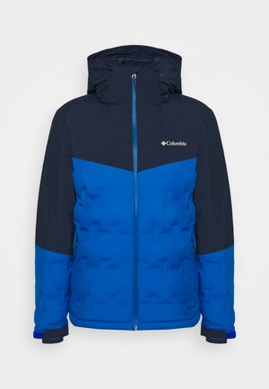 WILD CARD JACKET - Kurtka narciarska - bright indigo/collegiate navy