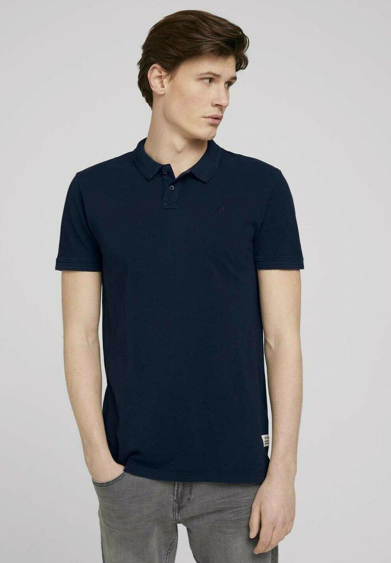 TOM TAILOR DENIM - Polo shirt - sky captain blue