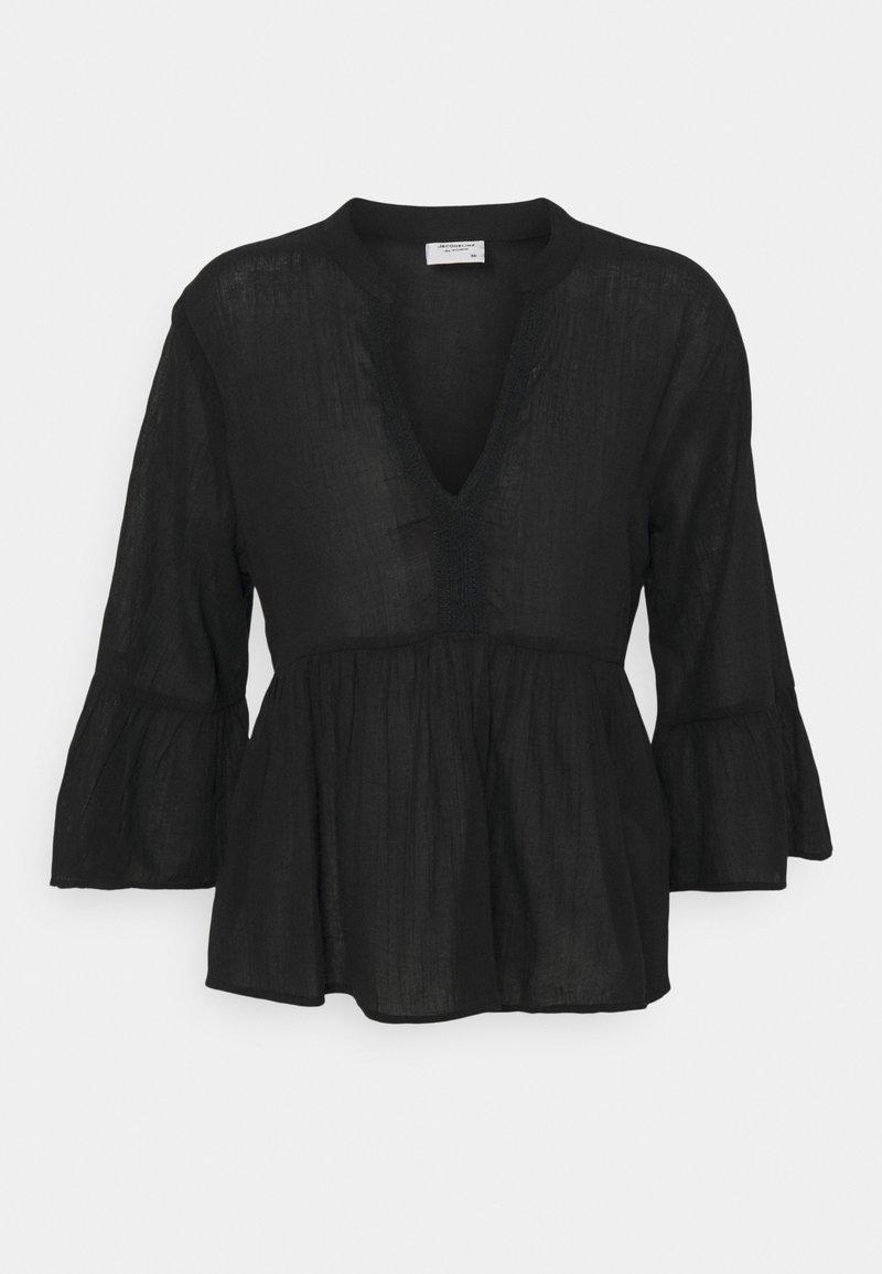 JDY - JDYAGNES LIFE BLOUSE - T-shirt à manches longues - black
