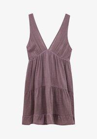 PULL&BEAR - Day dress - mottled purple - 4