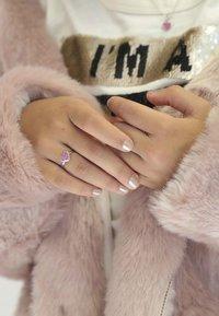 Lucardi - Ring - light pink, pink - 0