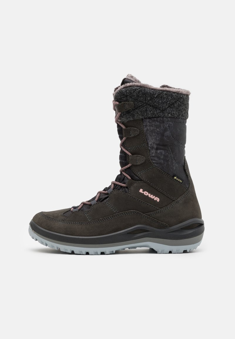 Lowa - BARINA III GTX  - Winter boots - anthrazit/rose