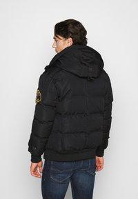 Alessandro Zavetti - ZAVETI CANADA TURVENO BOMBER - Winter jacket - black - 3