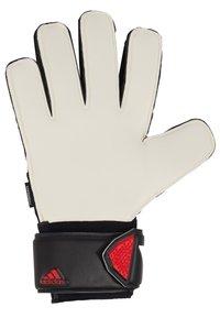 adidas Performance - UNISEX - Goalkeeping gloves - black/actred - 2