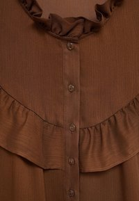 Mango - OSLO - Button-down blouse - russet - 7