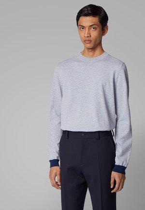 OMANOLO - Sweatshirt - open grey