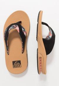 Reef - FANNING - Sandály s odděleným palcem - beige - 1