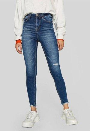 Jeansy Skinny Fit - dark-blue