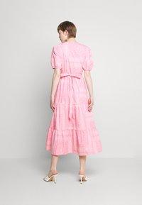 Never Fully Dressed - BANDANA DRESS - Maxi dress - pink - 2