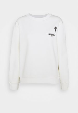PLEASE WAIT - Sweatshirt - white