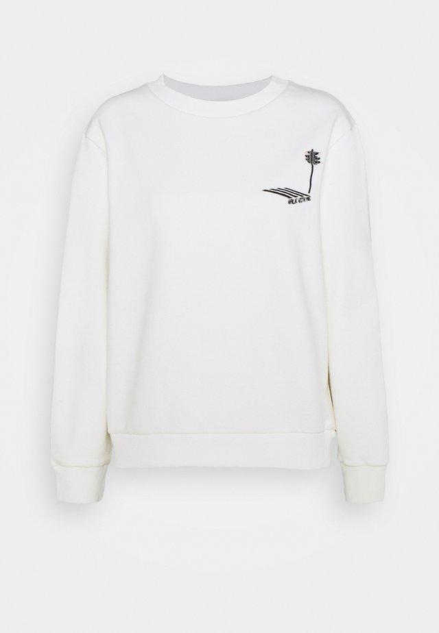 PLEASE WAIT - Sweater - white