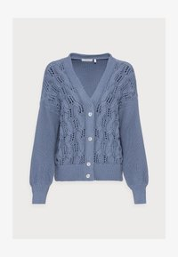 Rich & Royal - CARDIGAN CABLE - Cardigan - smoked blue - 4