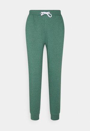 Regular Fit Jogger with contrast cord - Teplákové kalhoty - mottled dark green