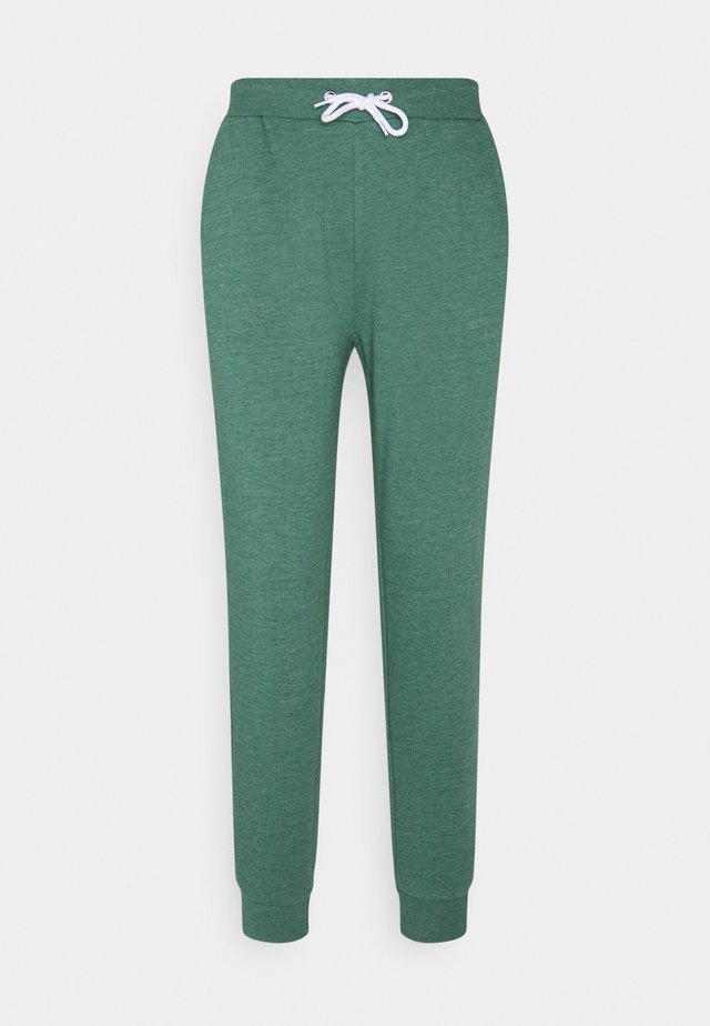 Regular Fit Jogger with contrast cord - Tracksuit bottoms - mottled dark green