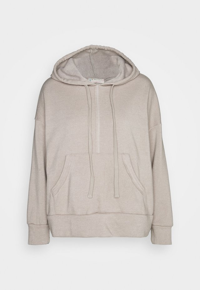 WORK IT OUT HOODIE - Mikina - grey