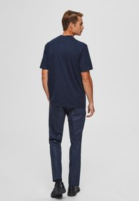 Selected Homme - T-shirts basic - sky captain - 2
