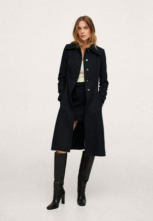 KATOENEN - Klasický kabát - zwart