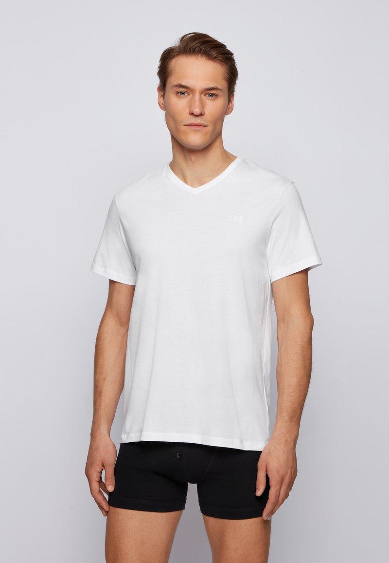 BOSS - BOSS HERREN UNTERHEMD 2ER-PACK KURZARM - Undershirt - white