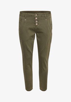 PENORACR TWILL - Trousers - sea green washed