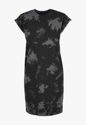 Korte jurk - black/grey