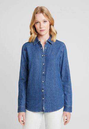 SAYA - Skjorte - blue denim