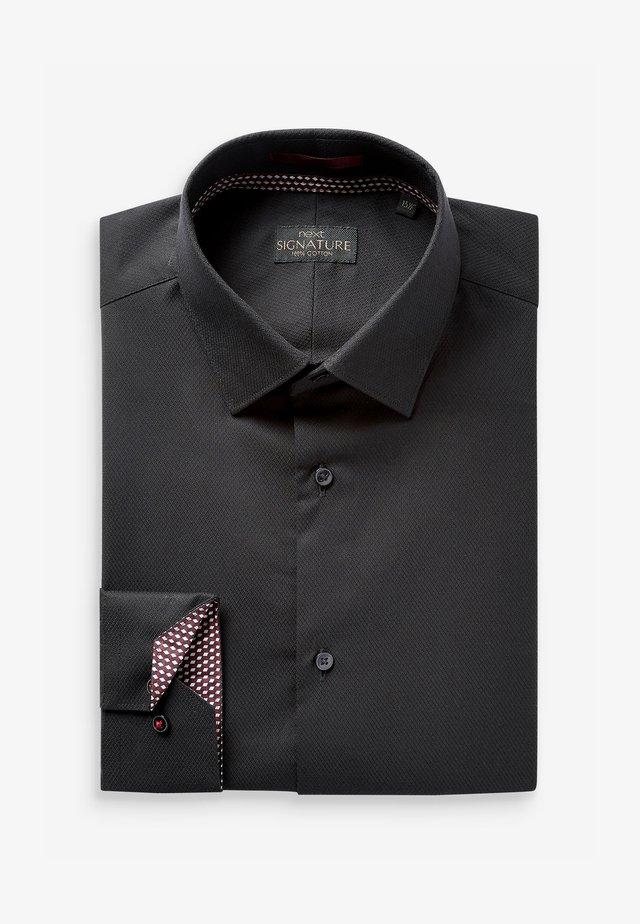 SIGNATURE - Formální košile - black