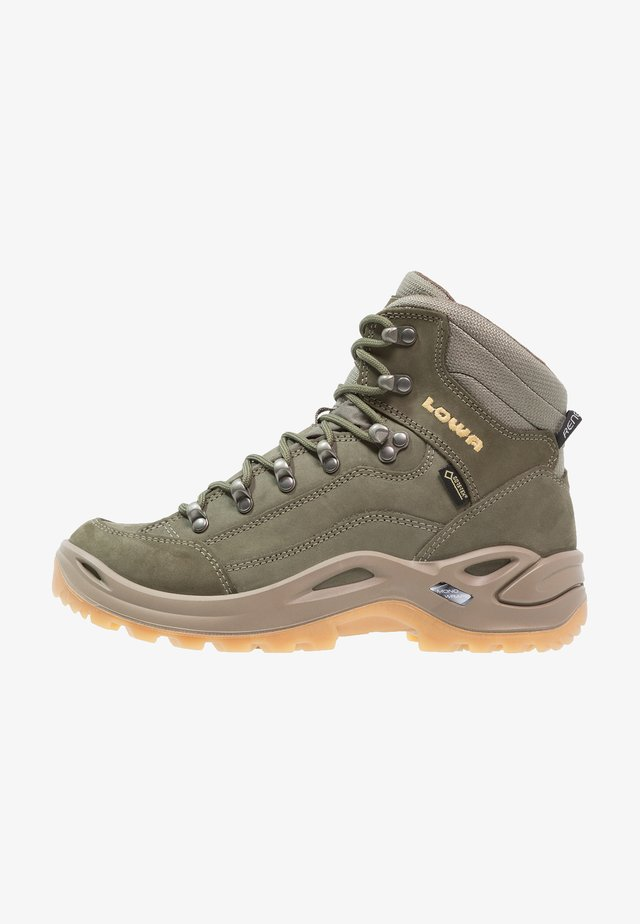 RENEGADE GTX MID - Hiking shoes - schilf/honig