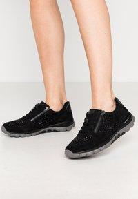 Gabor Comfort - ROLLING SOFT - Sneakersy niskie - schwarz - 0