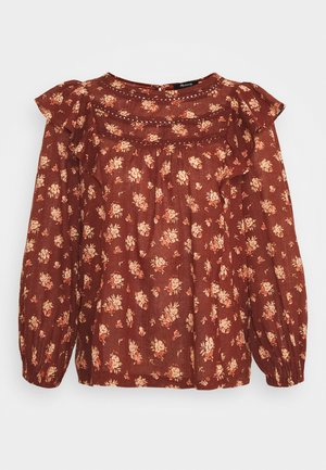 AVERY - Blouse - burnished mahogany