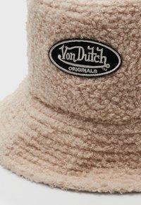 Von Dutch - BUCKET UNISEX - Hat - beige - 2